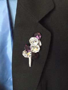 Hey, I found this really awesome Etsy listing at https://www.etsy.com/listing/184044225/rhinestone-and-purple-crystal