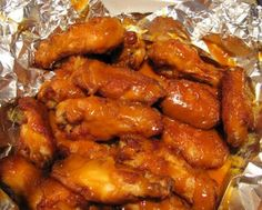 Chicken Wings with Golden BBQ sauce