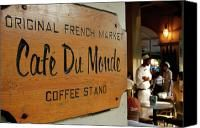 Beignets & coffee in New Orleans ... loved this place while doing rebuild work on three trips, after Katrina!