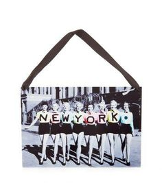 New Look Black and White New York Plaque #covetme