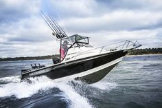 Great shot of a Bar Crusher. A great aluminium fishing boat made right here in Melbourne.