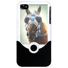 Secretariat iPhone 4 Slider Case @Robin S. S. S. Sneed  you need this!!