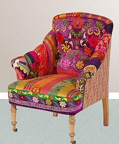 bokja arm chair gypsy bohemian
