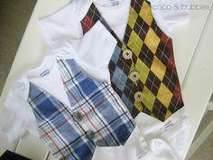 Vest Onesie // Baby onesie toddler onesie boy by CocoandBubbles