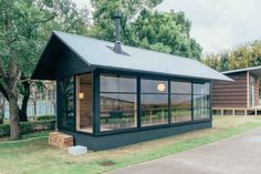 glass hut style mini house