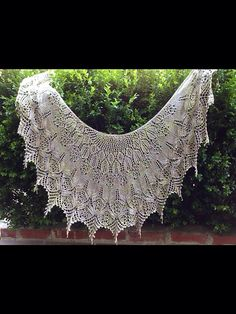 Ravelry: Project Gallery for Serendipity Lace Shawl pattern by Hayley Tsang Sather Knitted Scarves, Knitted Shawls, Wedding Shawl, Irish Lace, Lace Knitting, Serendipity, Knit Patterns, Ravelry, Tapestry