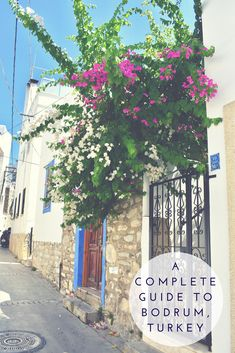 The Best Things to Do & See in Bodrum: A Complete Guide – Turkey Backpacking Europe, Europe Travel Guide, Asia Travel, Travel Destinations, Turkey Destinations, Beste Hotels, Best Travel Guides, Holiday Resort, Turkey Travel