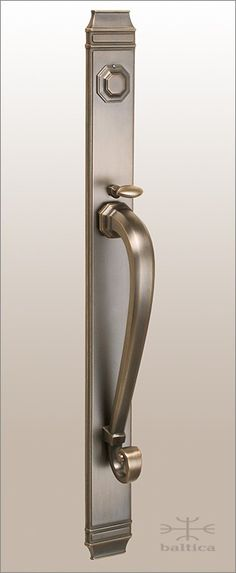 Sundance thumblatch A - antique bronze - Door hardware handcrafted by master artisans - available in beautiful finishes. www.balticacustomhardware.com