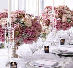 Table Setting Pink