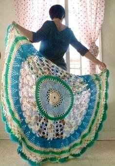 Circle Blanket: Ocean
