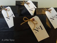 "A Little Tipsy: ""Thinking of You"" Bags for When Parents Travel"