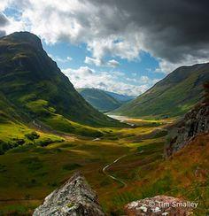 Glen Coe - Scottish highlands.