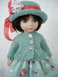 For Tonner New Patsy Knit and Dress Little Hat Girls Made by Ulla | eBay