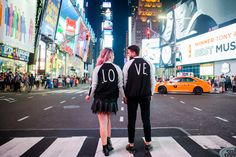 Pré Wedding na Times Square – NY — Niina Secrets