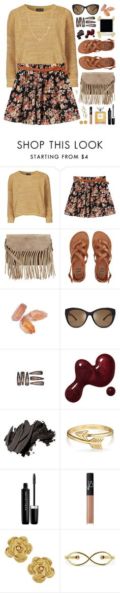 """Anything But Ordinary."" by charcharr on Polyvore featuring Topshop, Retrò, Accessorize, Billabong, Polaroid, Tory Burch, Bobbi Brown Cosmetics, Bling Jewelry, Marc Jacobs and NARS Cosmetics"