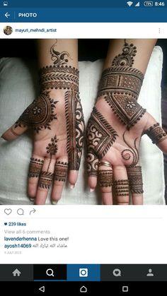 Easy Mehndi Designs For Front Hands For Kids - mehandi - Hand Henna Designs Rose Mehndi Designs, Basic Mehndi Designs, Henna Art Designs, Mehndi Designs For Beginners, Mehndi Designs For Girls, Mehndi Design Photos, Mehndi Designs For Fingers, Khafif Mehndi Design, Latest Mehndi Designs
