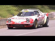 There is nothing as wonderfully understated as Finnish rally drivers driving insane classic Lancia rally cars.
