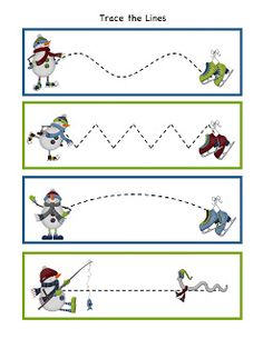 Preschool Printables: Winter