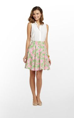 Perfect Easter Skirt - Nibbles