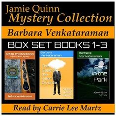 The Jamie Quinn Mystery Collection, Books 1 through 3, will enthrall Cozy Mystery lovers - so I'm thrilled to host a Worldwide Giveaway at Create With Joy! Stop by through July 24, 2016 for your chance to Win 1 of 3 Copies of this exciting Mystery Collection in your choice of E-Book or Audiobook through Audible (check out my review as well!)