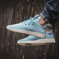 1f4486c6b Pharrell Williams x adidas Tennis HU Icey Blue