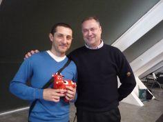 Con Mario Schumacher y Vaca Sinaia en la Ciudad de las Artes y las Ciencias de Valencia en la presentación de la candidatura del Spain Team Bocuse D'or Europe 2012 de Bruselas