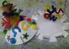 Make your own Birthday Party Hats!