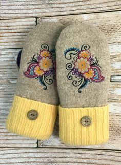 A personal favorite from my Etsy shop https://www.etsy.com/listing/504830424/sweater-mittens-worlds-warmest-mittens