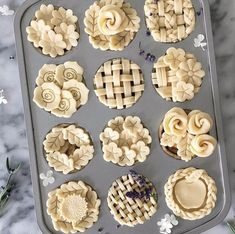 Mini Pies Tips & Tricks – A Carrie'd Affair Blog Mini Desserts, Holiday Desserts, No Bake Desserts, Dessert Recipes, Japanese Desserts, Japanese Recipes, Italian Desserts, Vietnamese Recipes, Chinese Recipes