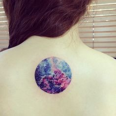 scorpio constellation galaxy tattoo -- this but for another sign