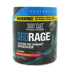 360Cut 360Rage Raspberry Lemonade - 30 Servings #AntiAging #Sports #Supplements #Fitness #BodyFitness #BodyBuilding