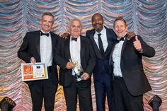 Warm Wales presented with Energy Consultant of the Year by Lenny Henry at The Energy Efficiency & Healthy Homes Awards 2017.