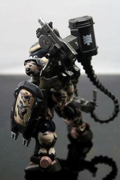1/144 HG Grimoire Desert Army Mercenary by KC Tienda