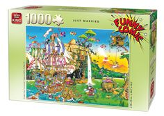 1000 Piece Funny Comic Cartoon Capers Jigsaw Puzzle - JUST MARRIED 05224 FOR SALE • £5.99 • See Photos! Money Back Guarantee. Toggle navigation About Us Visit our Shop Promotions Auctions Search Promotions Auctions About Us Search Top Categories Beach Goods Boats & Kayaks Camping, Tools, Gizmos Children's Clothing Face Paint Fancy 351720576046