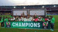 Nigeria's Super Falcons win 2016 African Women Cup of Nations for the eight time    Nigeria's Super Falcons this evening beat Cameroon's female National team Indomitable Lioness 1-0 to emerge the winners of the 2016 Africa Womens Cup of Nations. Desire Oparanozie scored the only goal that gave Nigeria victory in the match which was played at the Ahmadou Ahidjo Omnisports Stadium in Yaoundé. This will be the eight time Nigeria will win the coveted title. Congrats to the team...