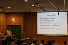 "Erasmus IP'14 | ""Steganography and Digital Investigations"" | 24 de abril - 'Scripting Lecture (Python)'"