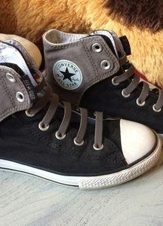Kupuj mé předměty na #vinted http://www.vinted.cz/damske-boty/platene-boty/11821376-sedo-cerne-nazouvaci-conversky