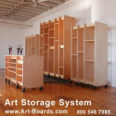 Storage for Canvas Paintings | Art Storage for storing watercolor paintings and all artwork on paper ...
