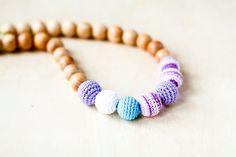 Mommy Organic Teething necklace Nursing necklace  by kangarusha, $19.00