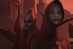 Sith Assassin Asajj Ventress