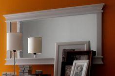 Spiegel Halifax im Landhausstil weiß 70x120cm von Novasolo