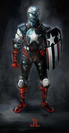 Captain America Redesign