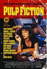 Pulp Fiction Cult Poster