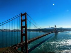 Do you have a free day in San Francisco and looking to take in some popular sites? We've put together five can't miss spots to see San Francisco in a day. Ponte Golden Gate, Golden Gate Bridge, California With Kids, California Travel, California Pictures, Northern California, Taxi Uber, Baie De San Francisco, Virgin America