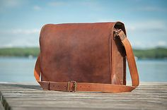 #Vintage leather handmade #laptop carry #style messenger satchel bag briefcase 16,  View more on the LINK: 	http://www.zeppy.io/product/gb/2/191781759968/