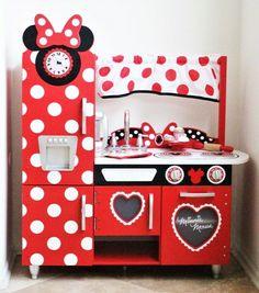 Sympathetic minnie mouse play kitchen smyths home design Kitchen Sets For Kids, Kids Play Kitchen, Toy Kitchen, Funny Kitchen, Kitchen Decor, Minnie Mouse Kitchen, Minnie Mouse Toys, Pink Birthday Cakes, Diy Birthday