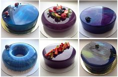 Reveal the secret mirror glaze / Amazing Cooking Sweet Cakes, Something Sweet, Corn Syrup, White Chocolate, Sweet Recipes, Fondant, Panna Cotta, Cake Decorating, Food And Drink