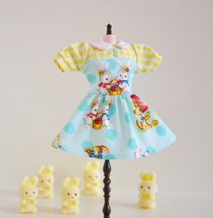 BLYTHE Dress Vintage Baby Animals Dress for by SweetPetiteShoppe