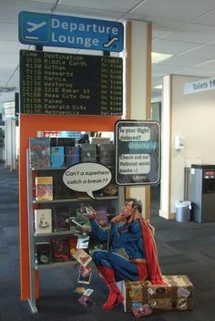 An engaging book display to get kids interested in reading!