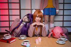 Doki Doki Literature Club. I'm kinda in this fandom. Great cosplay!